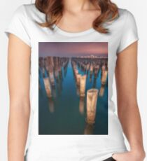 Princess Pier Fitted Scoop T-Shirt