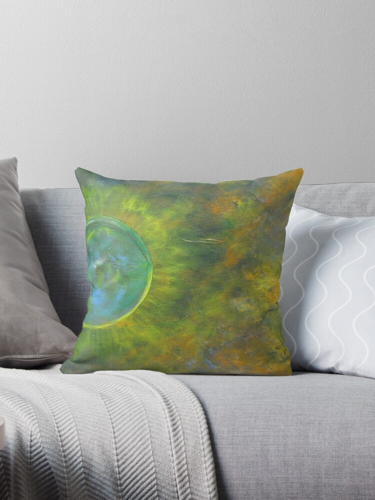 Quot My Universe Quot Throw Pillows By Riana222 Redbubble