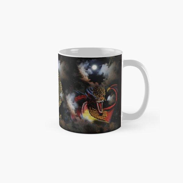 Moon Fire Dragon Coloured Clouds Classic Mug