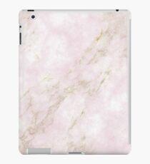 Rose Gold Marmor iPad-Hülle & Klebefolie