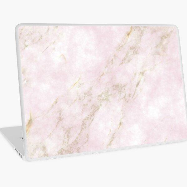 Rose Gold Marble Laptop Skin