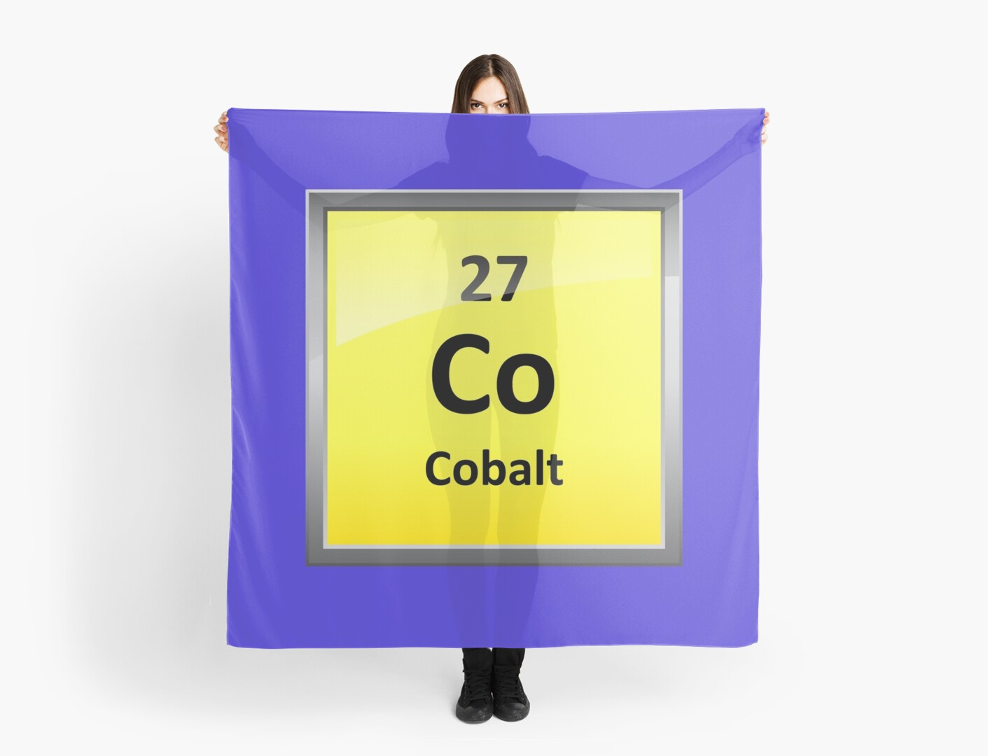 Cobalt element symbol periodic table scarves by sciencenotes cobalt element symbol periodic table by sciencenotes urtaz Choice Image