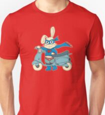 Be-All-You-Can-Be Bunny Rides in to Save the Day Unisex T-Shirt