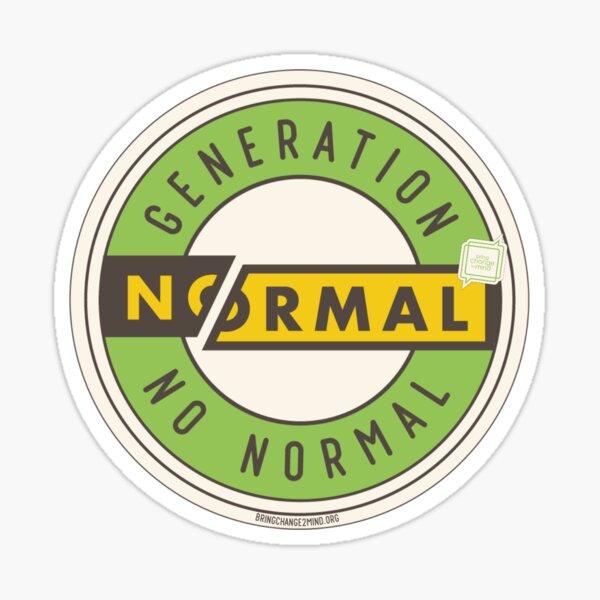 Generation #NoNormal  Glossy Sticker