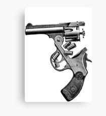 engraving gun Canvas Print
