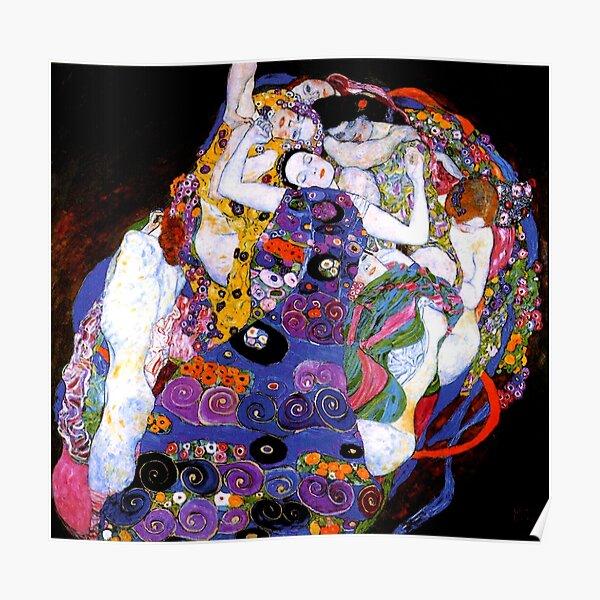 La Vierge de Gustav Klimt Fine Art Poster