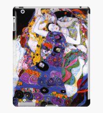 Die Jungfrau von Gustav Klimt Fine Art iPad-Hülle & Klebefolie