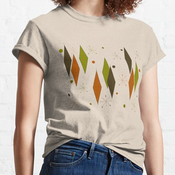 Diamonds Vintage Style Classic T-Shirt
