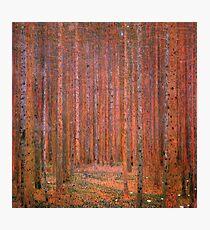 Tannenwald I by Gustav Klimt Fine Art Photographic Print