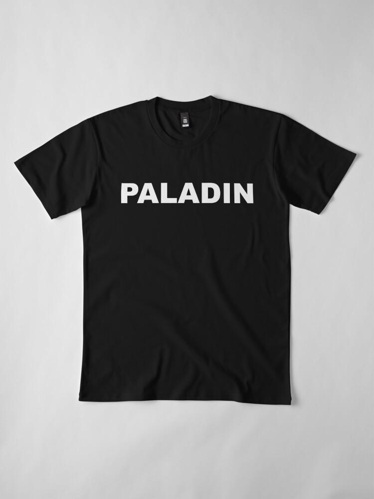 Alternative Ansicht von Paladin Premium T-Shirt