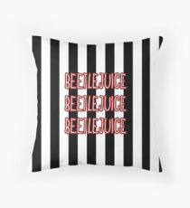 BEETLEJUICE Throw Pillow