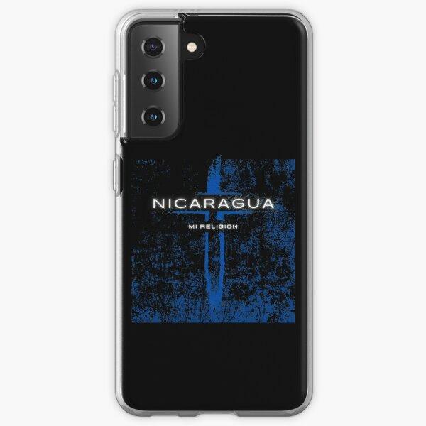 Nicaragua mi religión Funda blanda para Samsung Galaxy