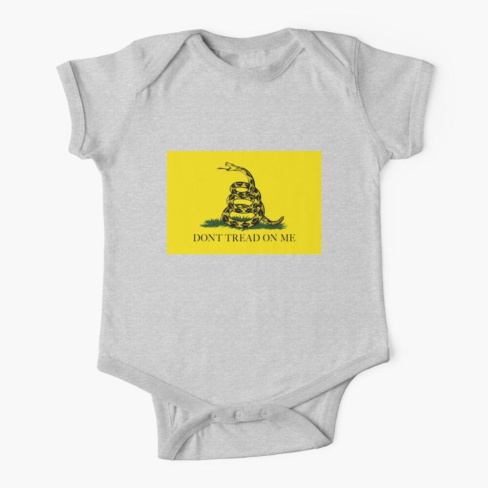 La bandera de Gadsden Do not Tread On Me - Versión auténtica Body para bebé