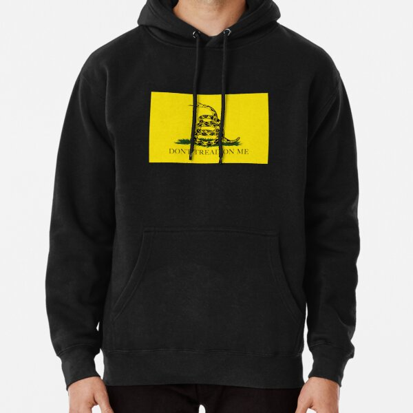 Gadsden Don't Tread On Me Flag Pullover Hoodie