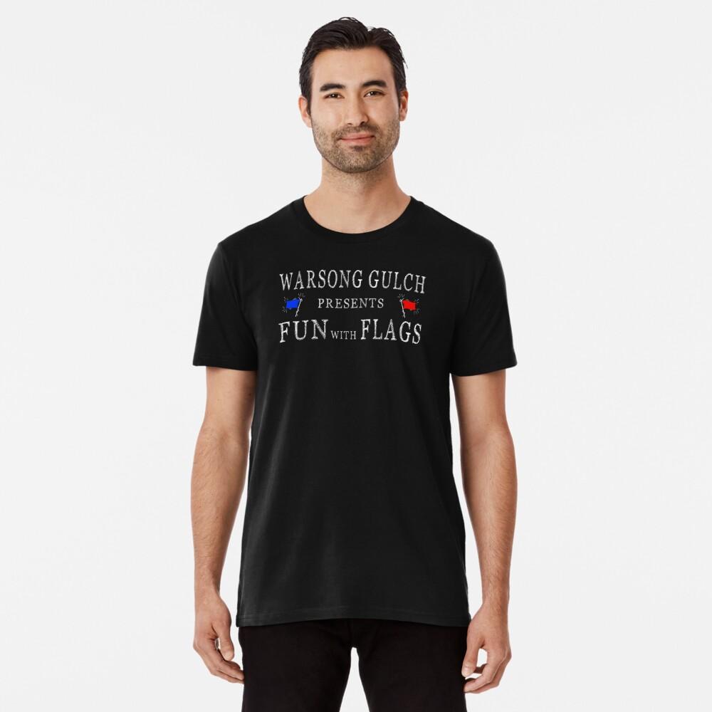 Warsong Gulch präsentiert: Spass mit Flaggen Premium T-Shirt