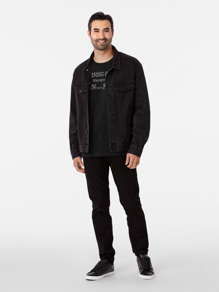 Alternative Ansicht von Warsong Gulch präsentiert: Spass mit Flaggen Premium T-Shirt