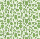 Arboretum 230715 - Avocado Green on White by Artberry
