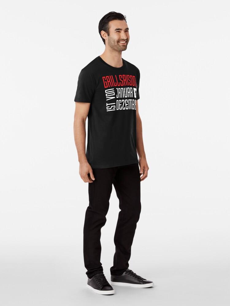 Alternative Ansicht von Grillsaison Premium T-Shirt