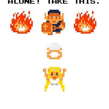 It's Dangerous, Take This! Customized Wedding Zelda by Nimose
