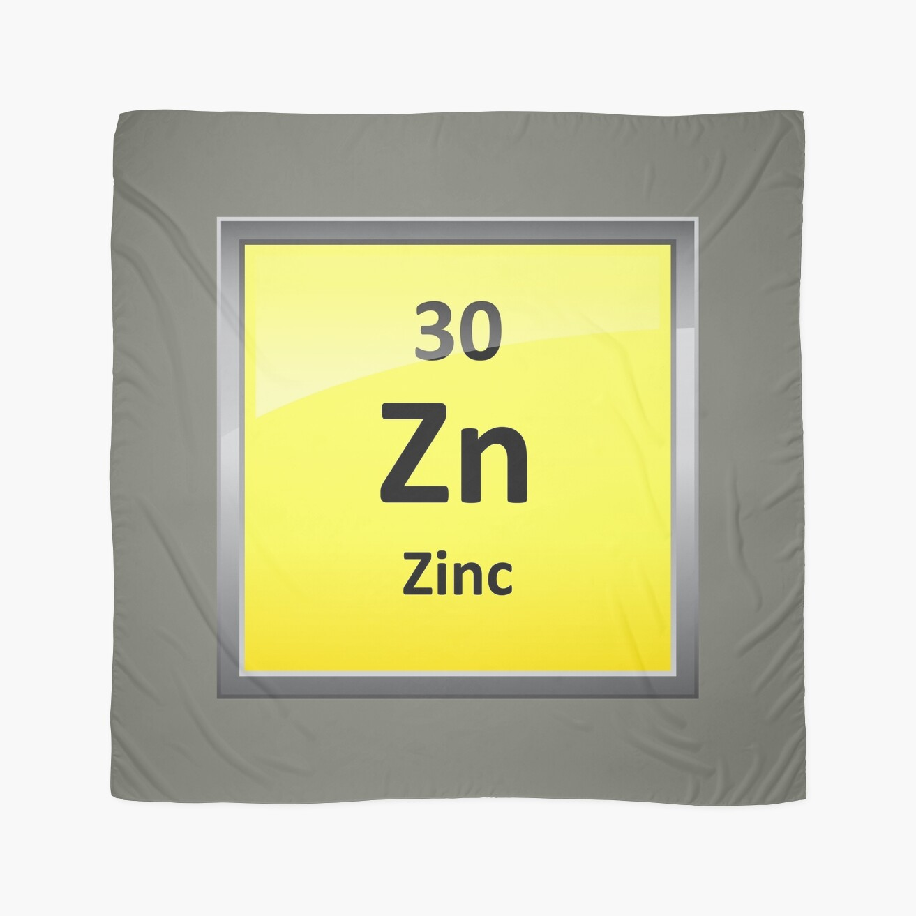 Zinc element symbol periodic table scarves by sciencenotes zinc element symbol periodic table buycottarizona Gallery