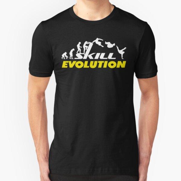 Evolution Evolve Man Backflip  Tshirt