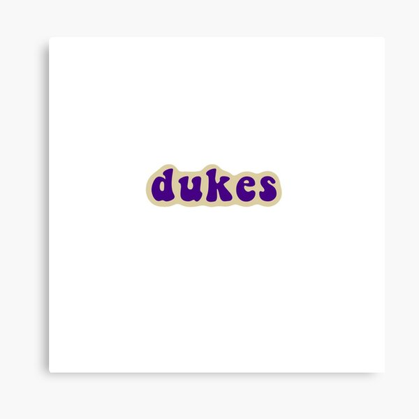 JMU - James Madison University - Dukes Canvas Print