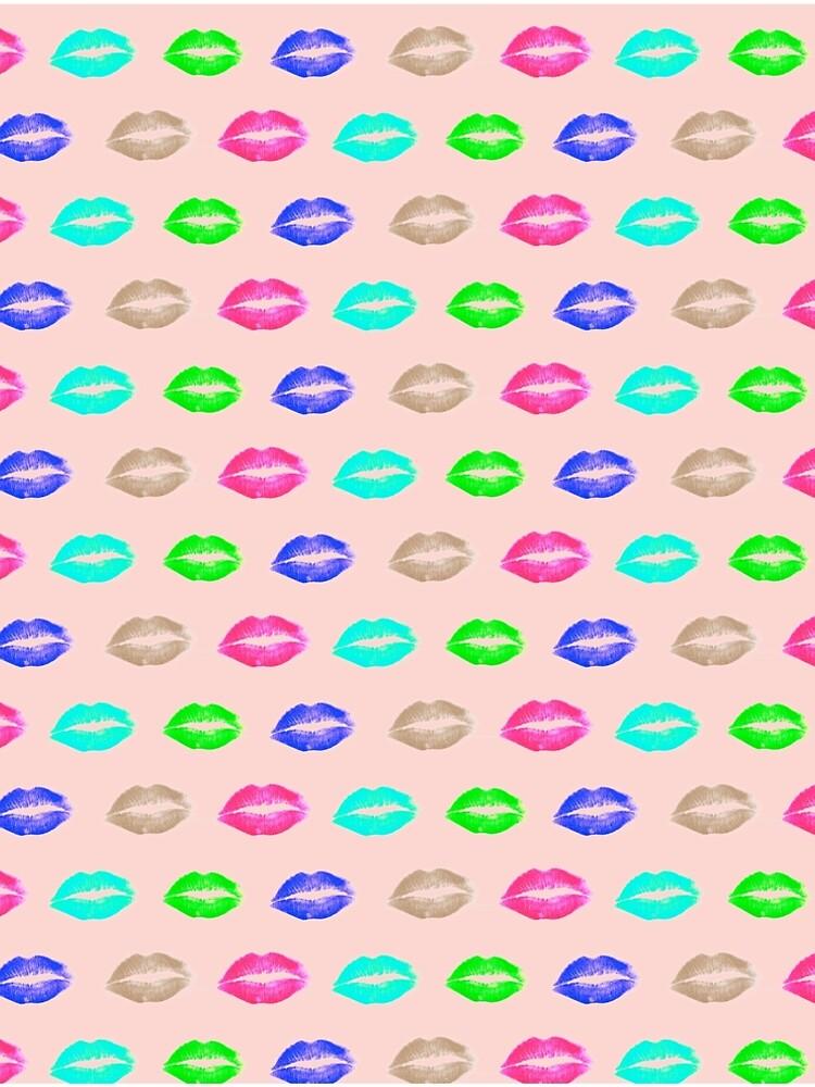 psychedelic lips by o2creativeNY