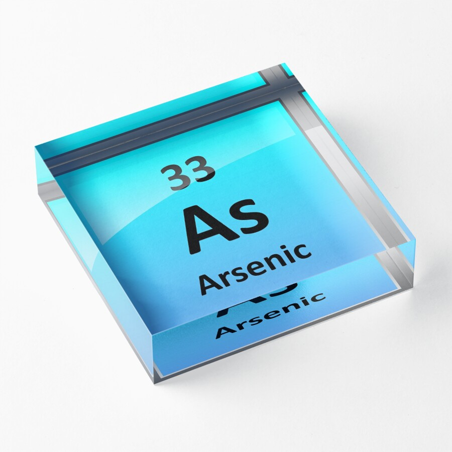 Arsenic element symbol periodic table acrylic blocks by arsenic element symbol periodic table biocorpaavc Image collections