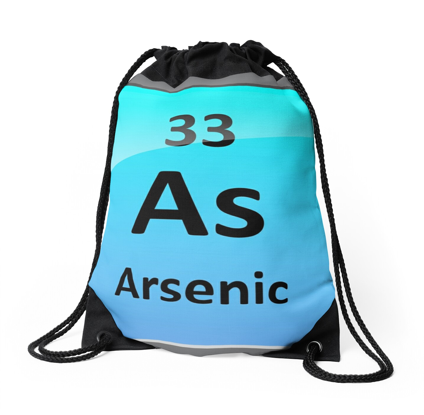 Arsenic element symbol periodic table drawstring bags by arsenic element symbol periodic table by sciencenotes biocorpaavc Image collections
