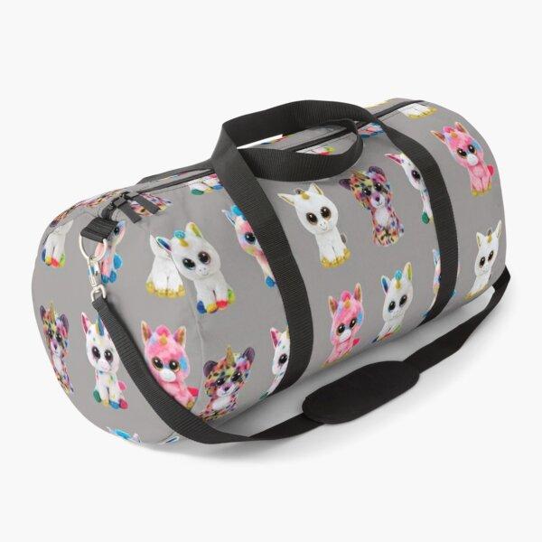 Cute beanie boo unicorns together for kids Duffle Bag