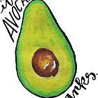 it's an avocado  by Hannah DeBord