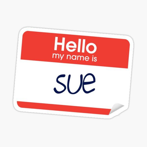 a boy named sue Sticker