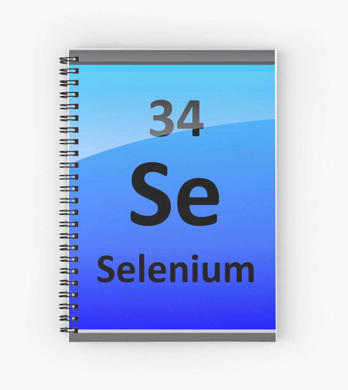 Cuadernos de espiral smbolo de elemento de selenio tabla smbolo de elemento de selenio tabla peridica urtaz Choice Image