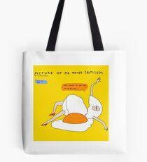 Help me I'm an egg Tote Bag