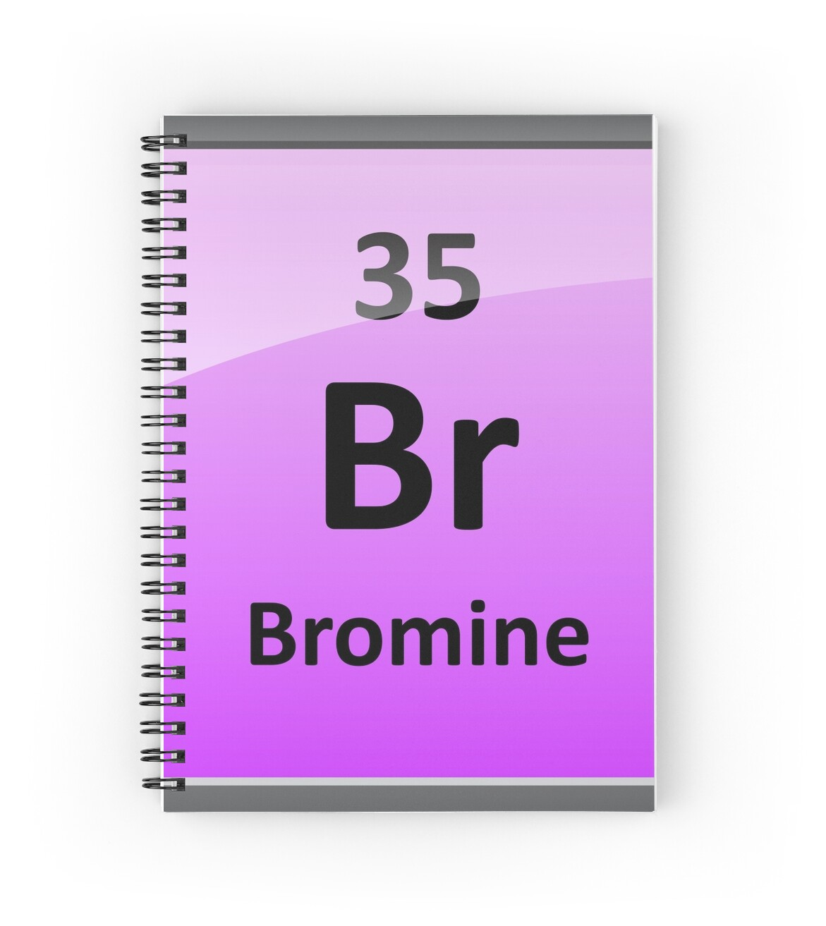 Bromine element symbol periodic table spiral notebooks by bromine element symbol periodic table by sciencenotes biocorpaavc