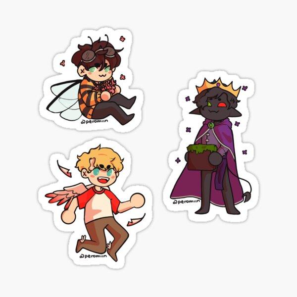 Bench Trio Origins Sticker