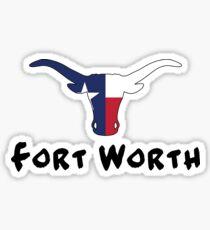 Fort Worth Texas Sticker