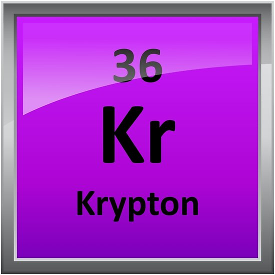 Krypton element symbol periodic table posters by sciencenotes krypton element symbol periodic table by sciencenotes urtaz