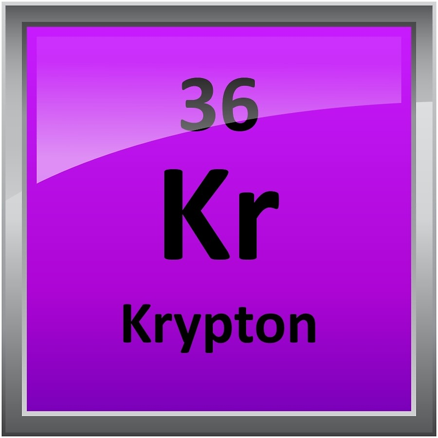 Krypton element symbol periodic table art boards by krypton element symbol periodic table buycottarizona