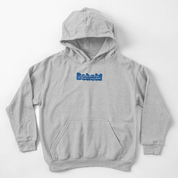Behold a marvelous work is about to come forth Kids Pullover Hoodie