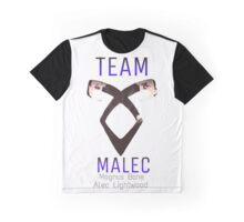 Team Malec Alec Magnus Graphic T-Shirt