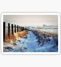 Snow Path Sticker