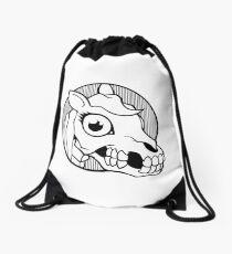 Death Pony Drawstring Bag