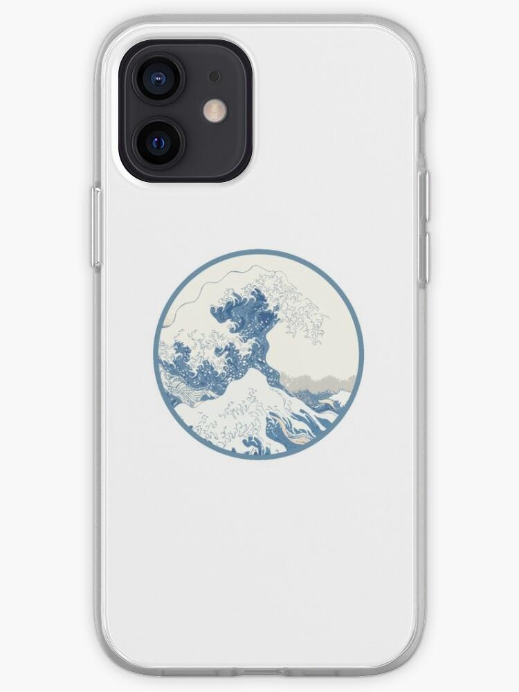 vague déformée | Coque iPhone