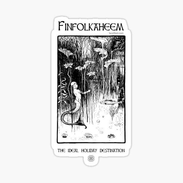Finfolkaheem: The ideal holiday destination Sticker