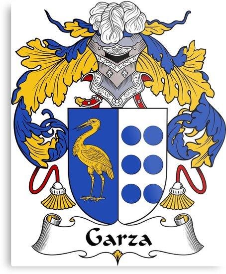 Garza Family Crest