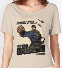 Black Dynamite! Dy-Na-Mite!! Women's Relaxed Fit T-Shirt