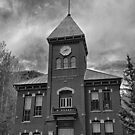 San Miguel County Courthouse BW by Robert Meyers-Lussier