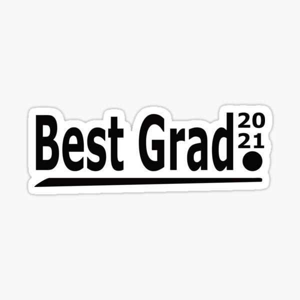 Best Grad Period Sticker