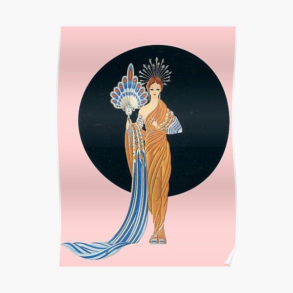 Athena, by Erte Poster